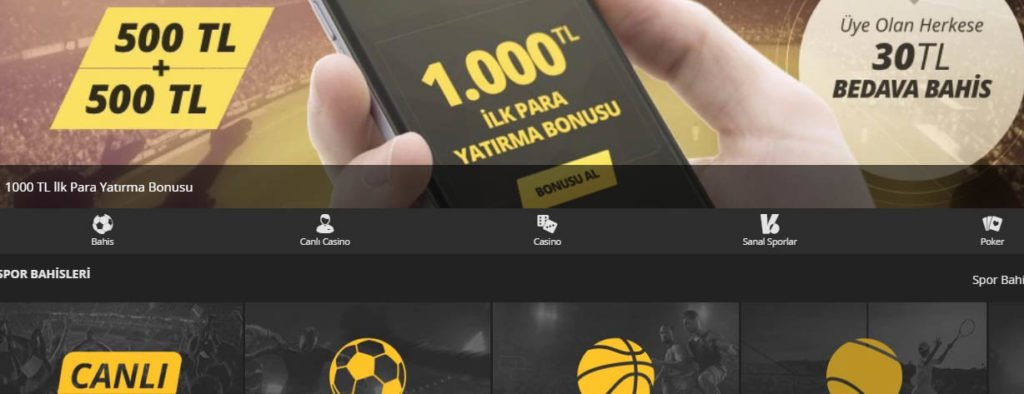 Canlı Bahis Bonusu Veren Siteler 2018